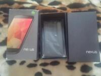 Unlocked boxed Nexus 4, quad-core, 16 gb internal, 2 gb ram