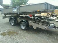 Ifor williams electric tipping trailer 12x6.6 no vat
