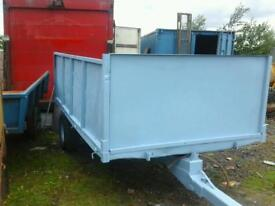 Selection of farm tipping trailers from 600 no vat