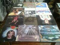 12 x Record Albums Assorted Artists.