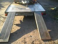 Ifor williams galvanised trailer ramps 6ft no vat