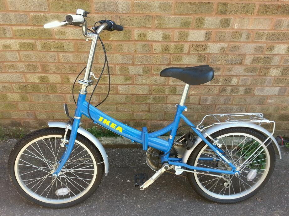 raleigh ikea folding bike never used in willenhall