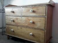 Vintage french style chest of drawers