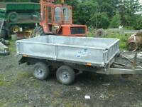 Ifor williams dropside trailer 8x5 no vat