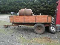 Massey ferguson farm tipping trailer 10x6 4 tons no vat