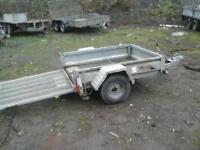 Pikes quad trailer 5x4 no vat