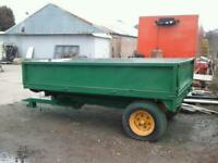 Marshall Farm tipping trailer 10x6