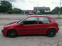 **nitrous kit fitted!** saxo vtr, polybushed, 180bhp!