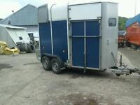 Ifor williams horse box trailer h b 505 with alloy floor no vat