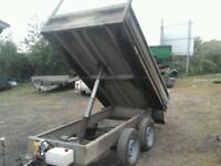 Lyuton electric tipping trailer 8x5 no vat (like ifor willams )