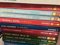 Haynes manuals job lot