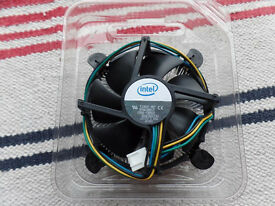 Intel Genuine Heatsink and Fan E33681-001 for Socket 775 Core 2 Duo CPU - NEW!