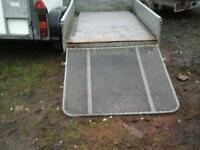 Beatson dropside trailer with rear ramp 8x4 no vat