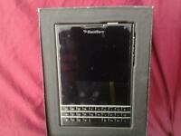 Blackberry Passport in Black on O2