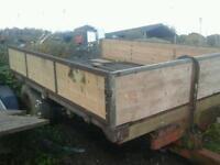 Massey ferguson farm tipping trailer 10x6 no vat