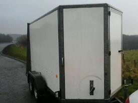 Ifor williams box van trailer 10x5x6 no vat
