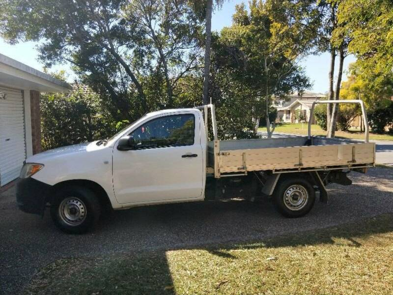 d1f0c26f19 2008 Toyota Hilux Ute - Roadworthy certificate available