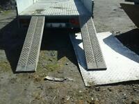 Ifor williams trailer ramps 6 ft no vat