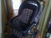 Mama/papa Multi coloured Girls/boys pushchair