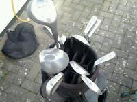 Mac Gregor golf clubs &a few odd cluds woods