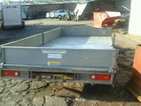 Ifor Williams drop side trailer 12x6.6 no vat