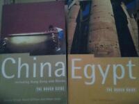 Travel books £1ea