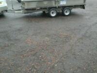 Ifor williams dropside trailer 12x6.5 alloy ribbed floor no vat
