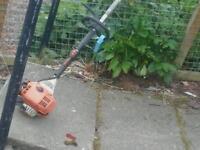 Stihl long reach combie chain saw no vat