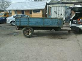 Weeks farm tipping trailer 9x6 no vat