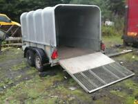 Ifor williams live stock trailer 8x5 no vat