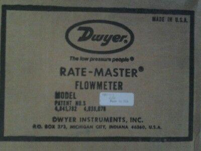 Dwyer Rate-master Flowmeter Water Meter Brass Rmv-3-3
