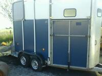 Ifor williams horse box trailer hb 510 with alloy floor no vat