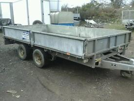 Ifor william drop side trailer 12x6.6 no vat
