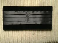 New black clutch bag ysl velvet and satin