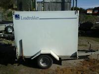 Lynton loadtrkker box van trailer 6x4x5 novat