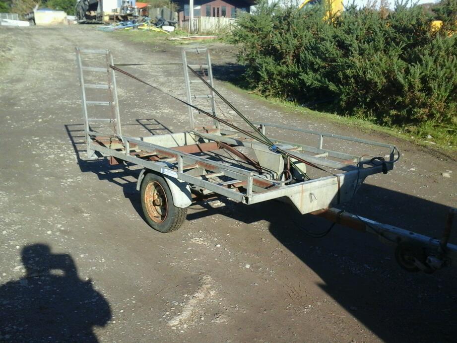 Quad or bike or bobcat trailer 8x5 no vat