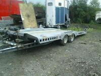 Ifor williams car tranporter c177 trailer no vat