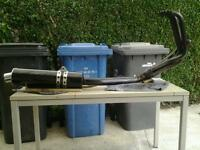 Motorbike exhaust system for sale