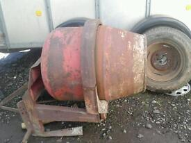 Bamlet tractor three point linkage cement mixer no vat