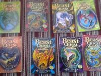 8 beast quest books