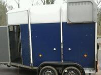 Ifor williams hore box trailer with alloy floor no vat