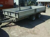 Ifor williams dropside trailer 12x6.6