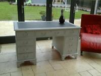 Large refurbished desk