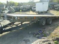 Ifor williams tilt bed car tranporter trailer 16x6.6 no vat