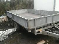 Ifor williams dropside trailer 1st x6.6 no vat