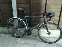 DAWES MONO ,,, ROAD BIKE, FIXIE, , 700 ALEXRIMS DA22 ALLOY WHEELS,
