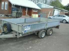 Ifor williams dropside trailer 12x6,6 no vat