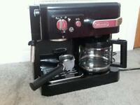 Delonghi combination coffee machine