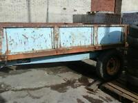 Weeks farm tipping trailer 10x6 no vat