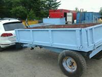 Weeks farm tipping trailer 10x6 4 tons no vat